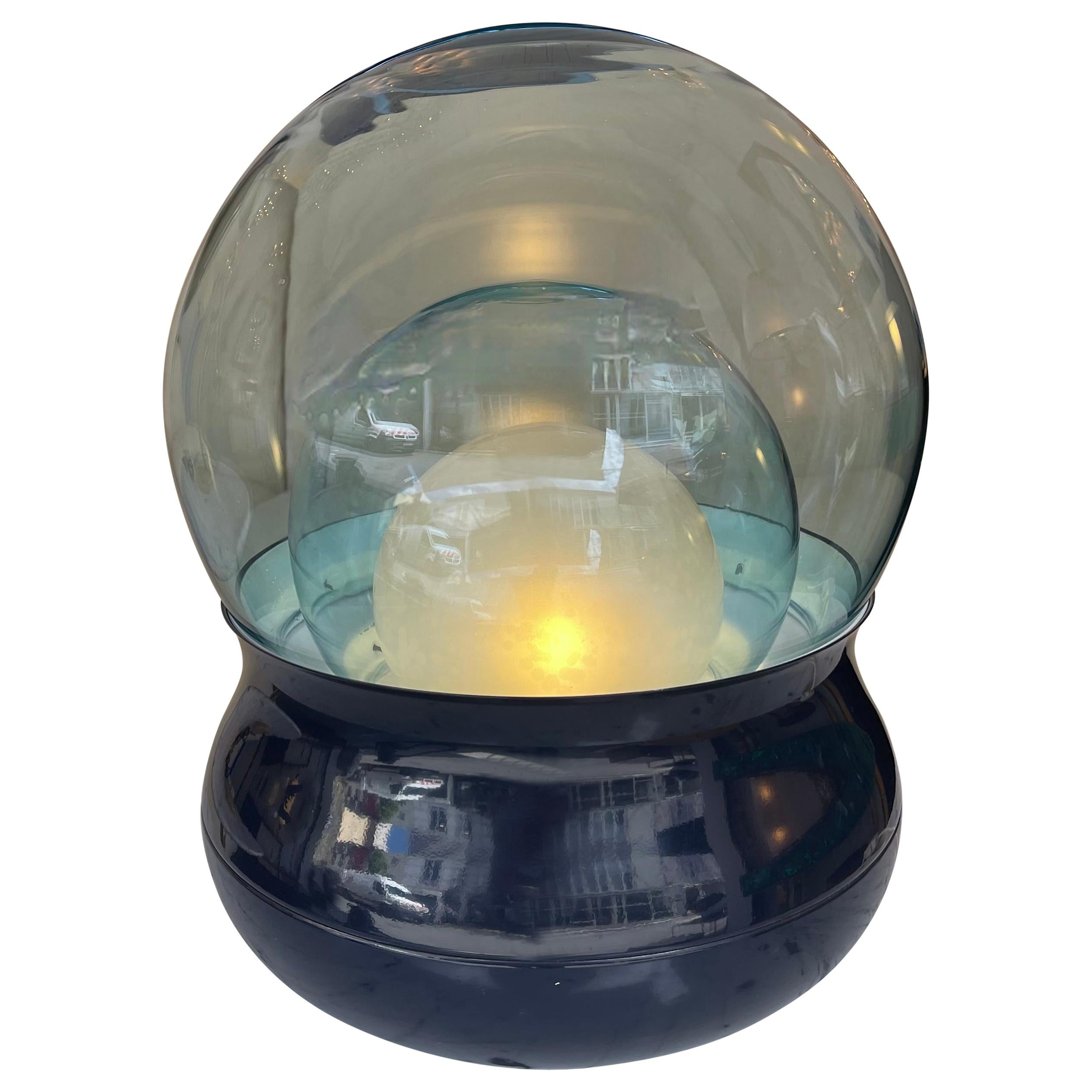 Lamp TL278 Murano Glass Metal by Giorgio Longoni for Stilnovo, Italy, 1970s