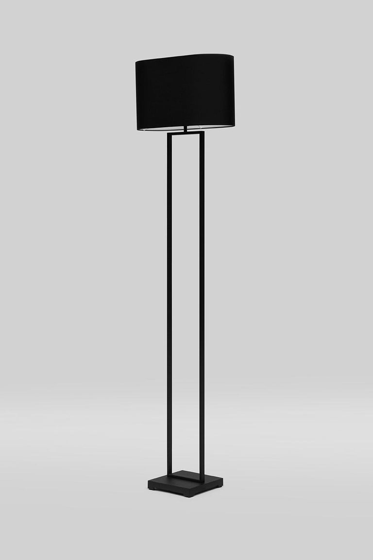 Modern GHYCZY Lamp Lotis MW24 Charcoal, Silk Black, Floor Lamp  For Sale