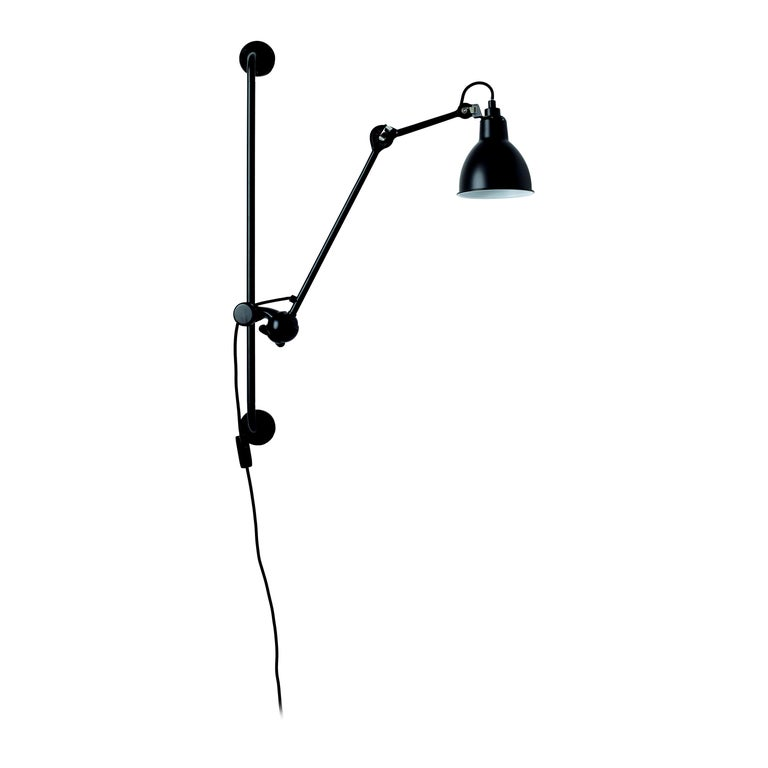 Lampe Gras N°210 Iconic Wall Lamp of Industrial Style Designed in 1921 For Sale
