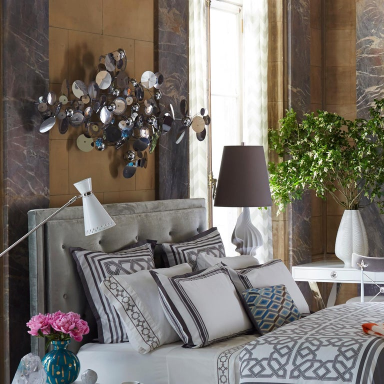 Modern Lampert Upholstered Queen Bed For Sale