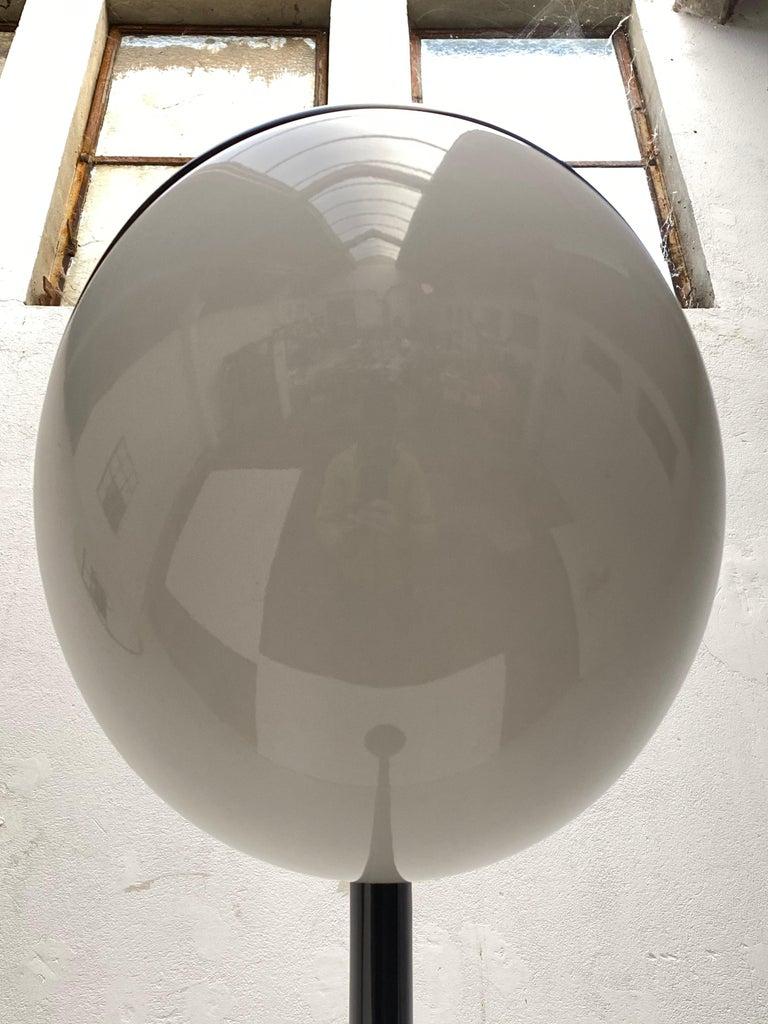 'Lampione' Floor Lamp by Fabio Lenci for DH Guzzini, Italy, 1968, Original Label For Sale 4