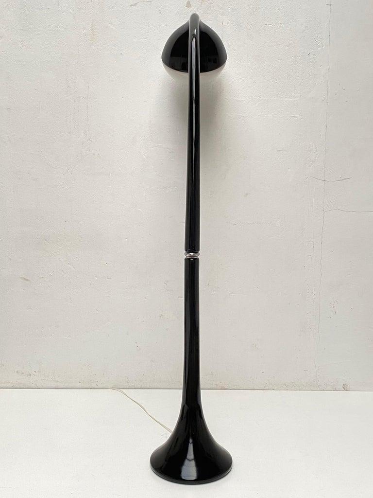 'Lampione' Floor Lamp by Fabio Lenci for DH Guzzini, Italy, 1968, Original Label For Sale 6
