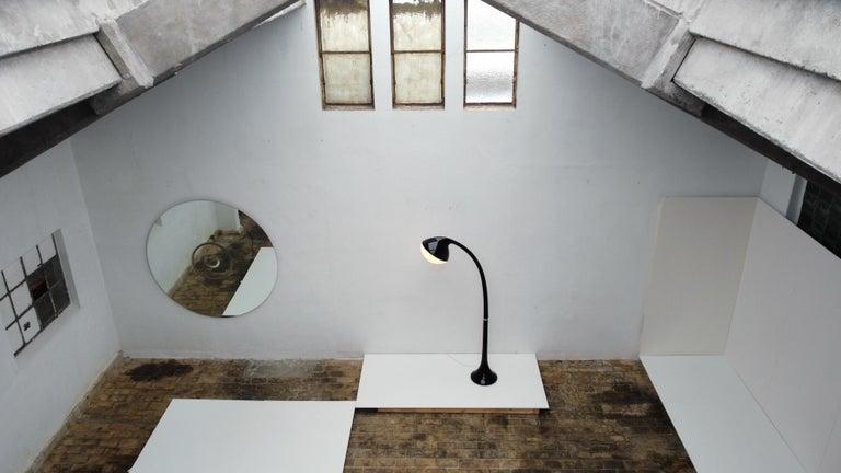 'Lampione' Floor Lamp by Fabio Lenci for DH Guzzini, Italy, 1968, Original Label For Sale 11