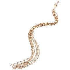 Lana 14 Karat Yellow Gold Multi-Dangle Necklace