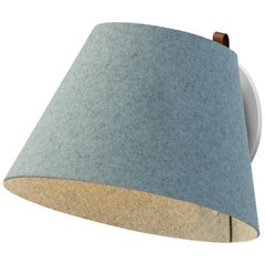 Lana Large Wall Light in Arctic Blue and Grey by Pablo Designs