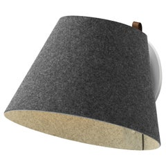 Lana Large Wall Light in Charcoal & Grey by Pablo Designs