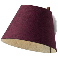 Lana Large Wall Light in Plum and Grey by Pablo Designs