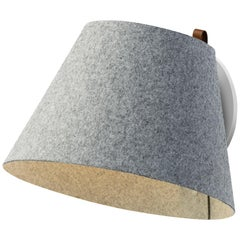 Lana Large Wall Light in Stone and Grey by Pablo Designs