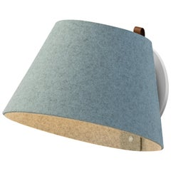 Lana Small Wall Light in Arctic Blue & Grey by Pablo Designs
