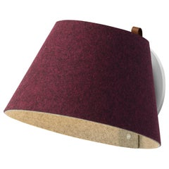 Lana Small Wall Light in Plum and Grey by Pablo Designs