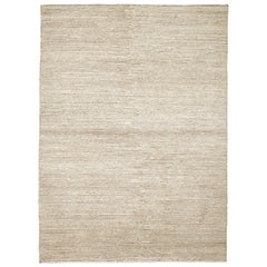 Lanagrossa Modern Rug in Warm Neutral Wool by Deanna Comellini 170x240 cm