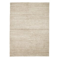 Lanagrossa Modern Rug in Ivory White Pure Wool by Deanna Comellini 170x240 cm