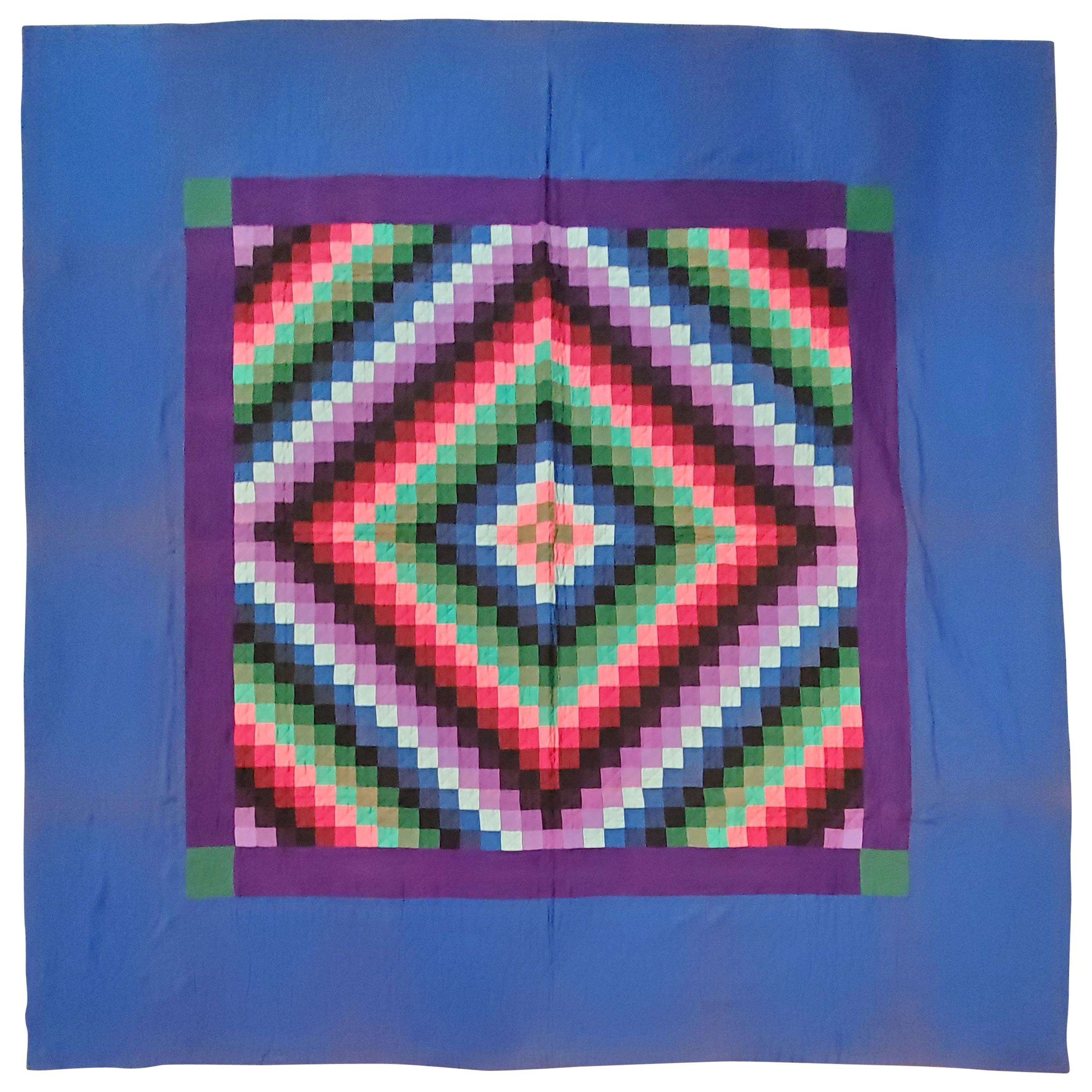 Lancaster County, Pennsylvania Sunshine Shadow Quilt