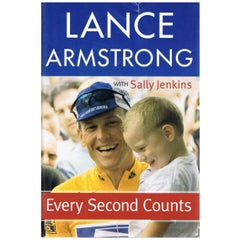 Lance Armstrong Autograph on a Copy of His Autobiography, 21st Century