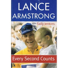 Lance Armstrong Autograph on a Copy of His Autobiography