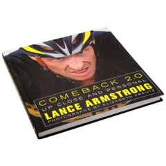 Lance Armstrong Autographed Copy of Book Comeback 2.0 '2009'