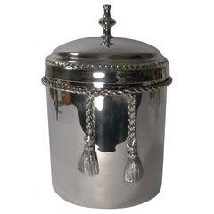 Lancel Paris Biscuit Box / Ice Bucket in the Manner of Maria Pergay