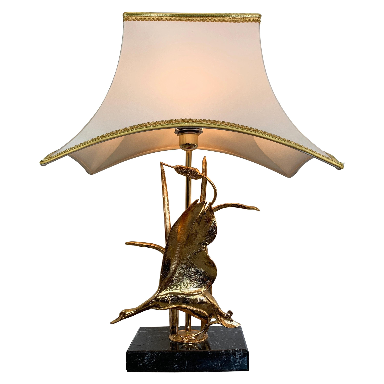 Lanciotto Galeotti Goose Table Lamp, Italy, 1970s