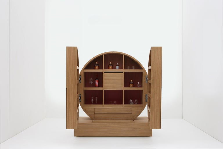 Modern Land of the Rising Sun - Cabinet inspiration by contemporary Japanese aesthetics For Sale