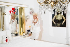 Michèle in Her Bedroom With Marilyn, High Season series, Palm Beach