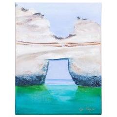 """Land's End"", Original Oil on Canvas by Houston Artist Judy Pryor"