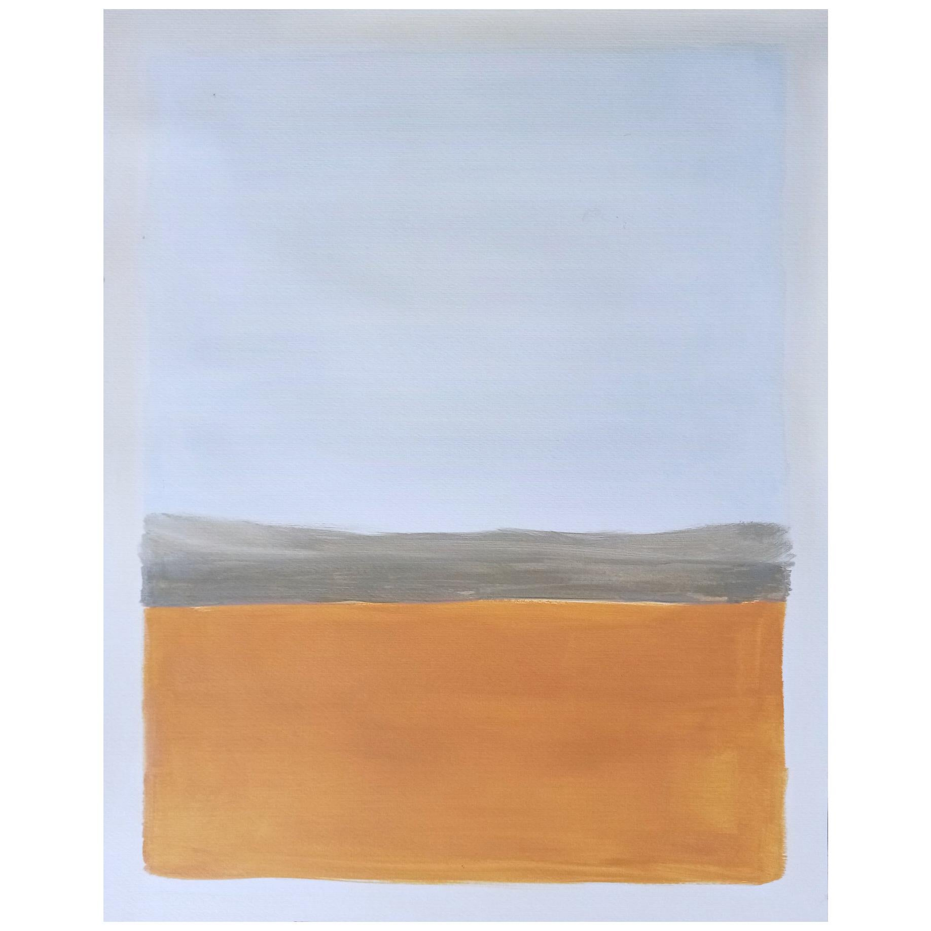 Landscape, Acrylic on Paper     free delivery