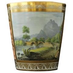 Landscape Beaker, Chamberlain Worcester, circa 1790