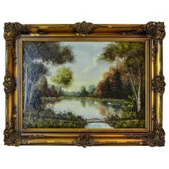 Landscape in a Golden Frame, the 20th Century