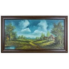 Landscape in an Oak Frame, after circa 1945
