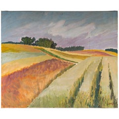 Landscape of Fields in the Countryside, 20th Century