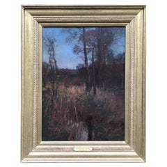 Landscape Oil by Sir Alfred Munnings, KCVO, PRA