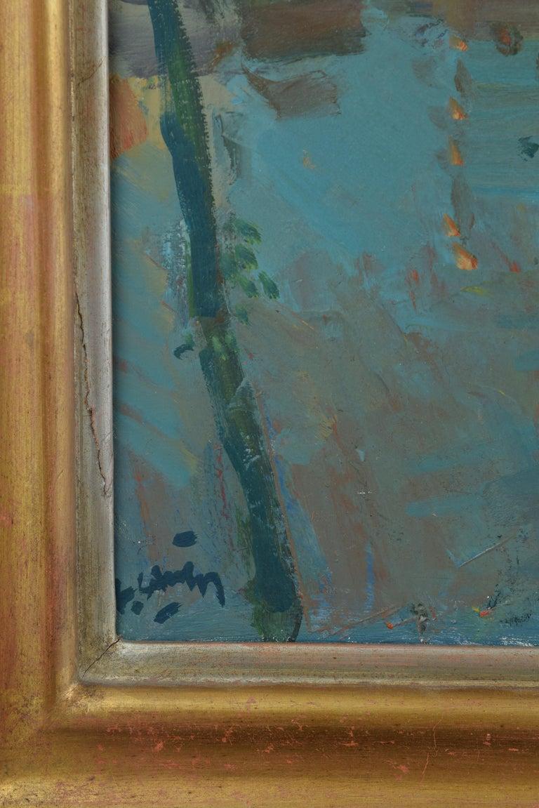 Landscape, Oil on Canvas, Signed, Grau Santos, Julián 'Spain, 1937-' In Good Condition For Sale In Madrid, ES