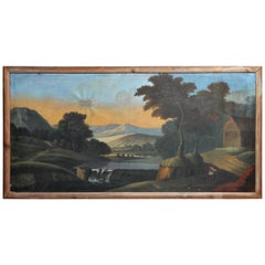 Landscape Oil Painting from Italy
