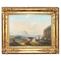 Landscape Painting Attributed to George Barrett, Senior, circa 1780