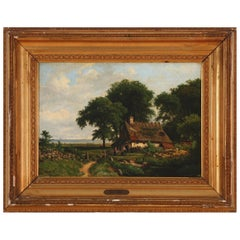 Landscape Painting by Edvard Michael Jensen