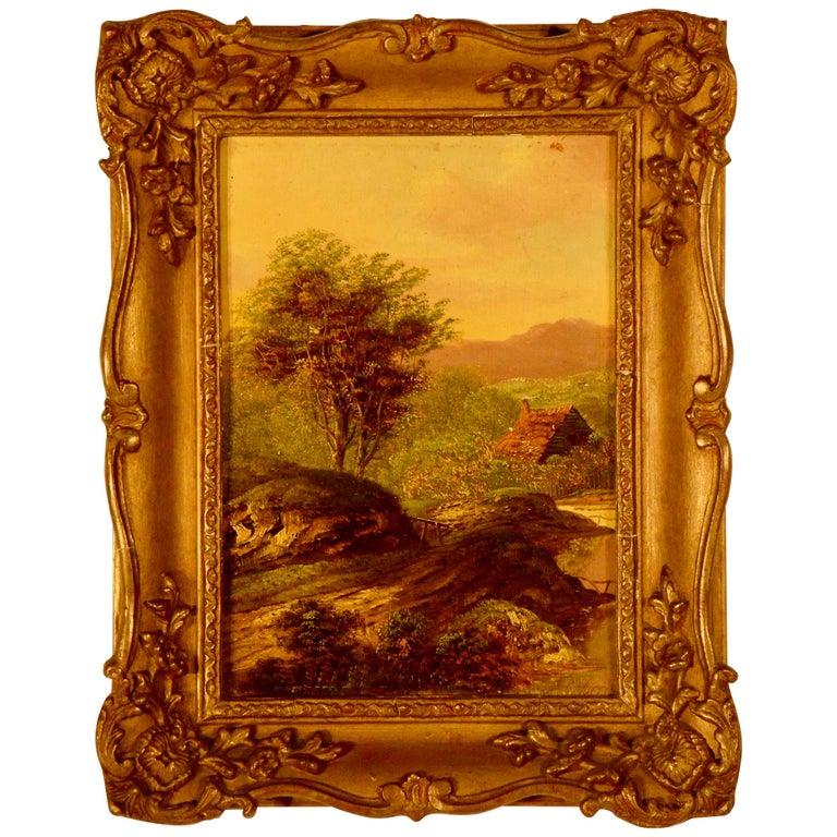 """""""Landscape"""" Signed C. Morris For Sale"""