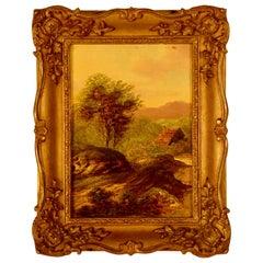 """""""Landscape"""" Signed C. Morris"""