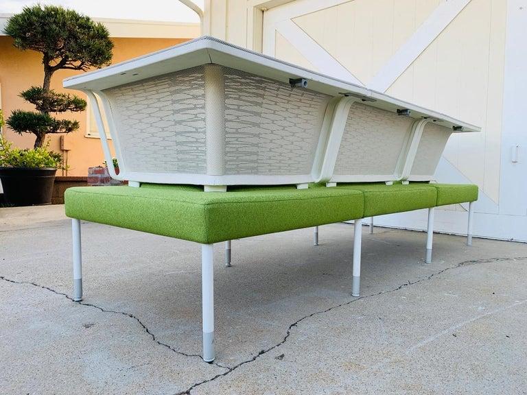 Metal Landscape Sofa by Yves Behar for Herman Miller For Sale