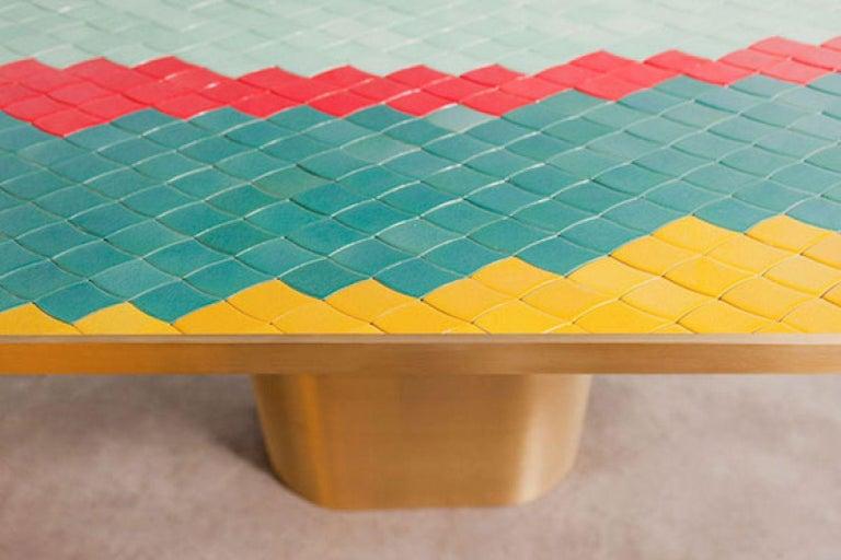 Contemporary Landscape Table 1 by India Mahdavi For Sale