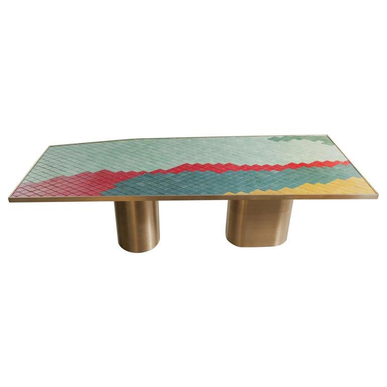 Landscape Table 1 by India Mahdavi For Sale