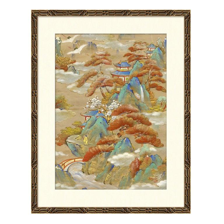 Landscapes I Japanese Print by CuratedKravet For Sale