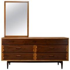 Lane Acclaim lowboy Dresser and Mirror