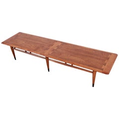 Lane Acclaim Mid-Century Modern Long Coffee Table