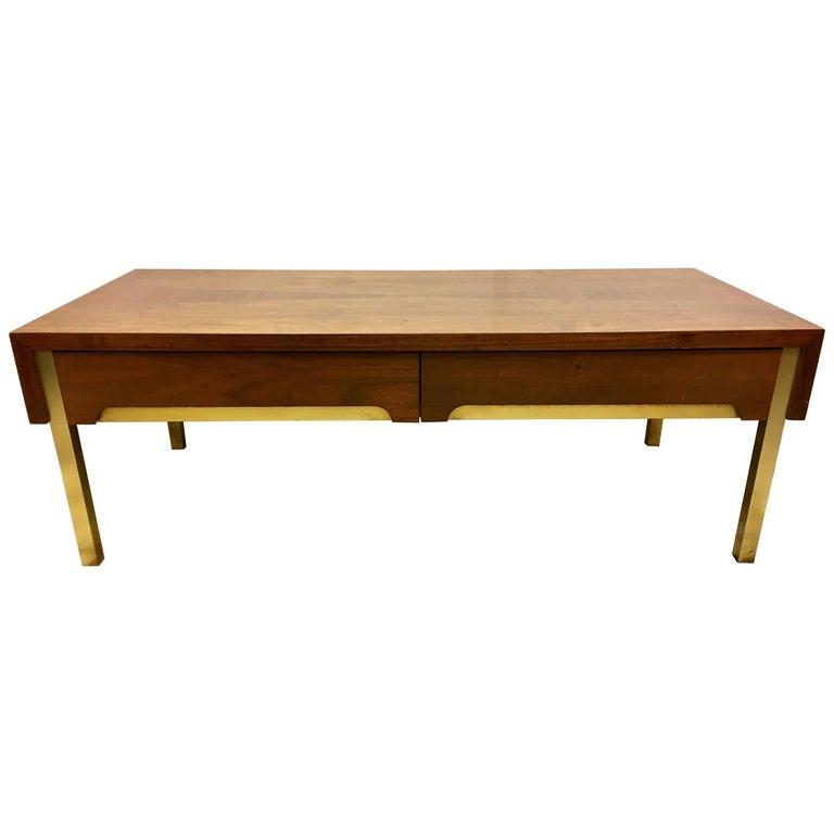 Lane Altavista Mid Century Modern Tail Coffee Table Rare Br Legs For