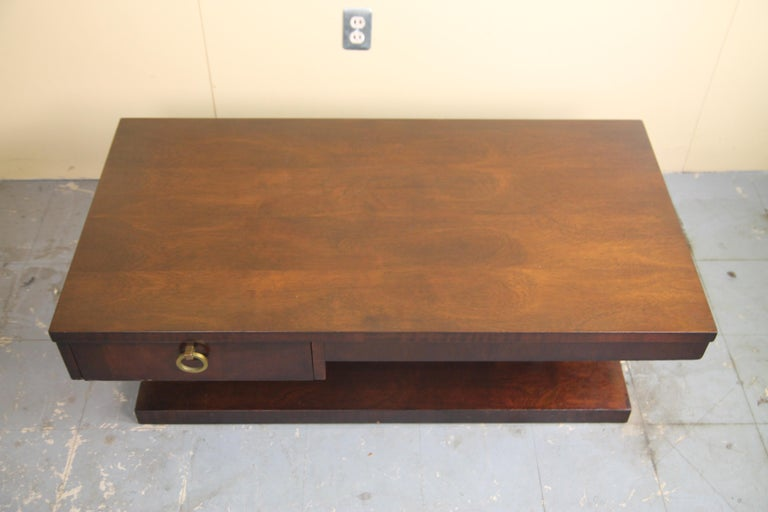 Mid-Century Modern Lane Architectural Coffee Table For Sale