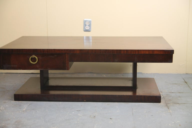 American Lane Architectural Coffee Table For Sale