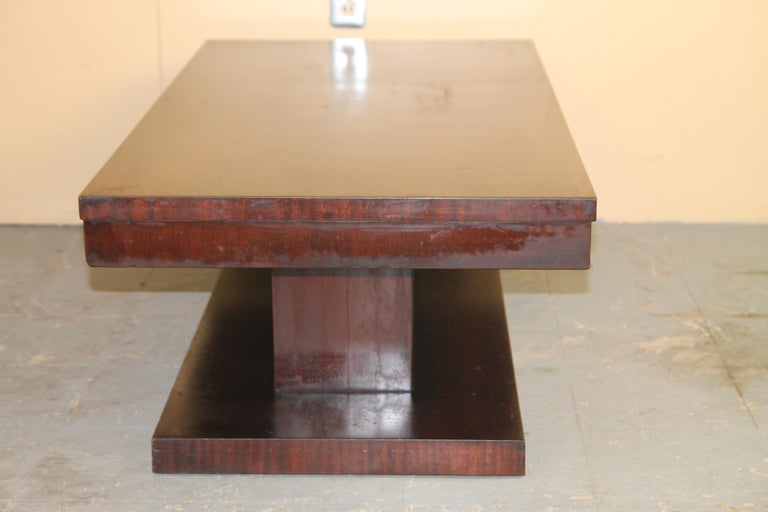 Lane Architectural Coffee Table In Good Condition For Sale In Asbury Park, NJ
