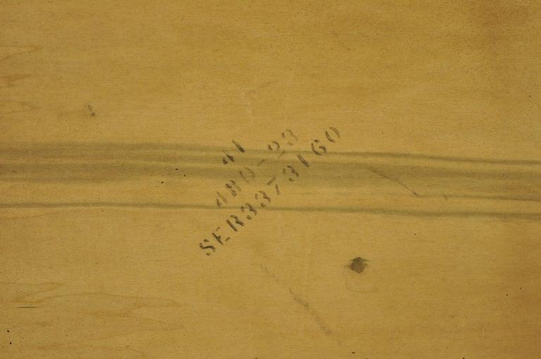 Lane Brutalist Geometric Block Queen Full Bed Headboard, Mid-Century Modern 5