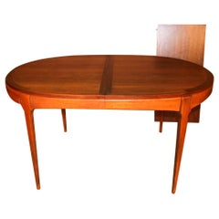 Lane First Edition Midcentury Expandable Dining Table