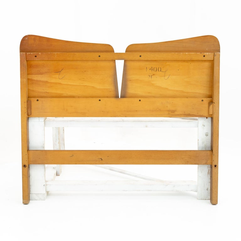 American Lane First Edition Style Mid Century Headboard For Sale